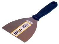 Espatula acero mango PVC  8cm. MOMFORT