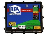 Electrificador RFA combinado 200 Km. (10 Joules)
