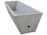 Bebedero de hormigón rectangular 500 lts
