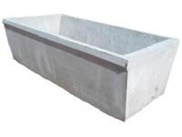 Bebedero de hormigón rectangular 800 lts
