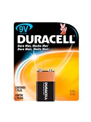 Bateria 9 V alkalina DURACELL