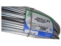 Alambre CAUDILLO Rienda N° 6 x rollo 25kg (171 mts)