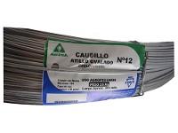 Alambre CAUDILLO Atillo N° 12 x rollo 25kg (581 mts)
