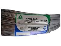 Alambre CAUDILLO Atillo N° 10 x rollo 25kg (384 mts)