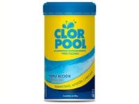 Cloro Clor pool Triple acción x 5 past.
