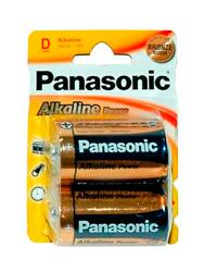 Pilas PANASONIC grandes alcalinas x 2 unids.