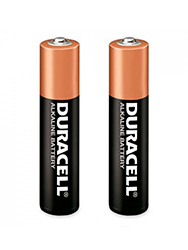 Pilas chicas AAA x 2 DURACELL