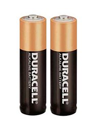 Pilas chicas AA x 2 DURACELL