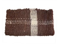 EFEKA Jerga de lana cruda lavada