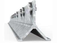 CLIPEX Poste Beefy galvanizado 2.10 mts 9 clip