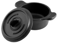 Mini Olla hierro esmaltado 10 cm con asa VICTORIA (ref.32906)