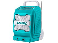 Radio de trabajo 20v litio no bat. inc. TOTAL TJRLI2001