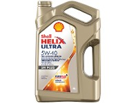 Aceite SHELL Helix ultra 5W40 x 4 lts.