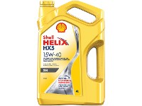 Aceite SHELL Helix HX5 15W40 x 4 lts.